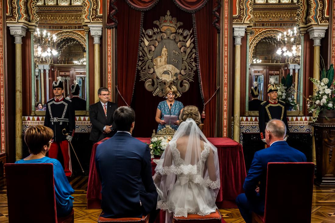 boda en el salon arabe de bilbao