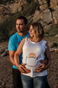 camiseta mensaje embarazo
