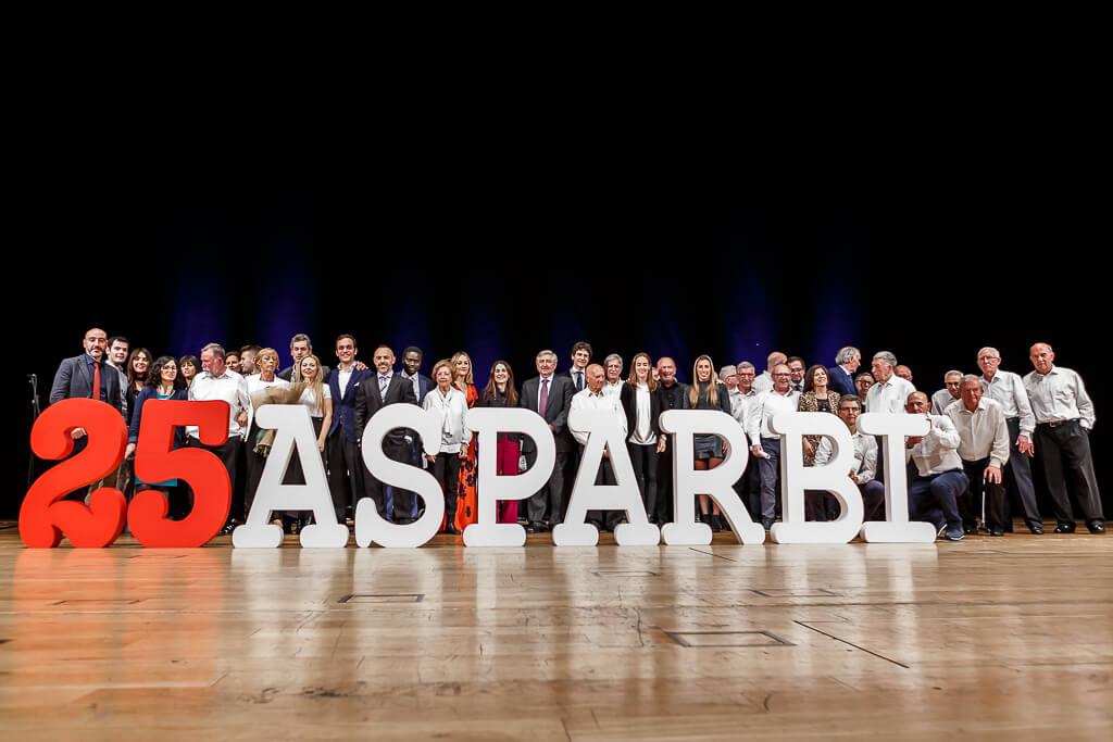 gala25 aniversario Asparbi asociacion parkinson bizkaia palacio euskalduna bilbao