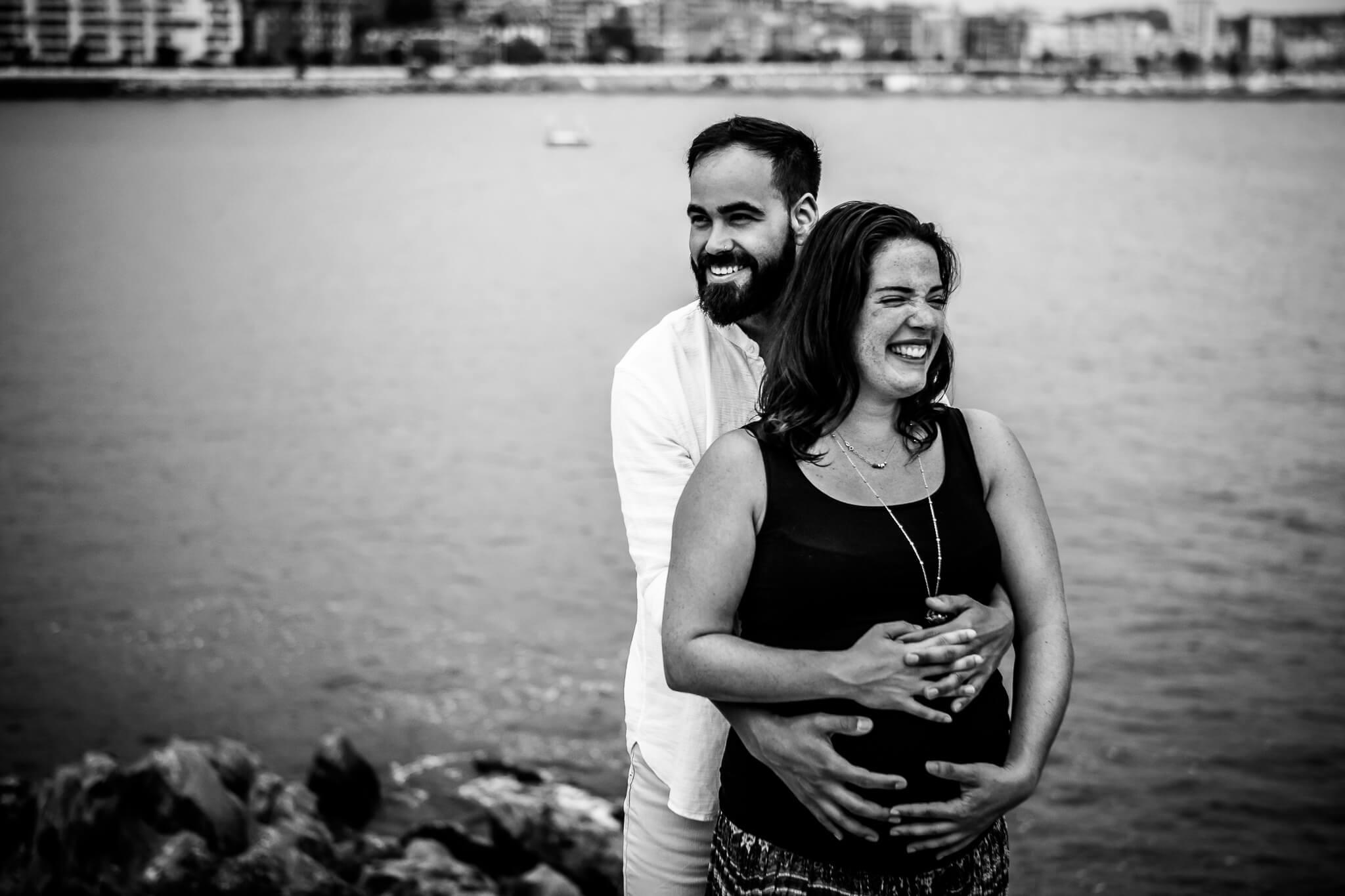 fotografía de embarazo en castro urdiales