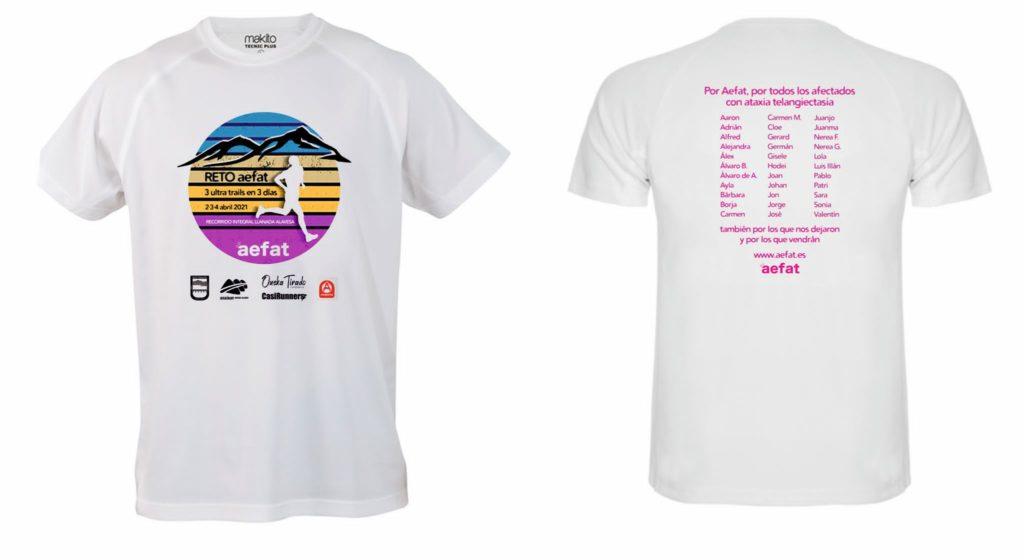 camiseta deportiva 3 ultras por afear